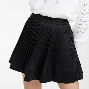 NWT Satin Black Skirt - Twik @ Simons